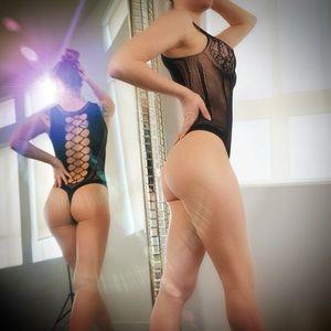 killer legs Intimates & Sleepwear - RESTOCKED! Becca Fishnet Bodystocking